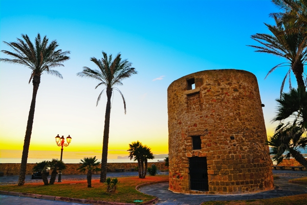 Turn antic, Alghero