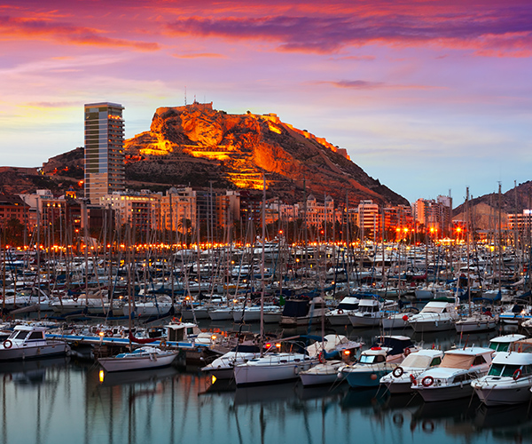 Alicante, oras port