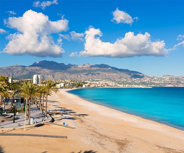 Alicante, plaja