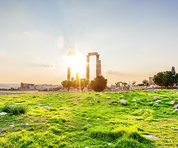 Amman, Templul lui Hercule