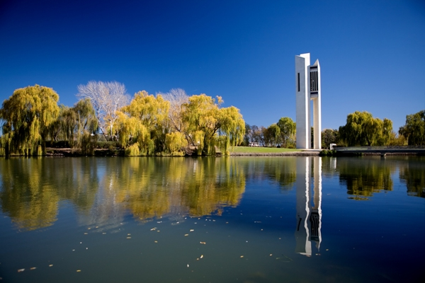 Lacul Burley Griffin, Canberra, Australia