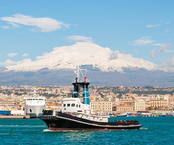Portul din Catania