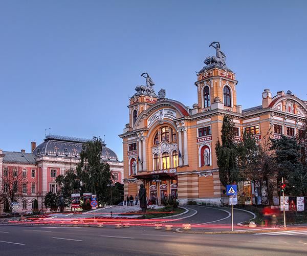 Peisaj din Cluj Napoca