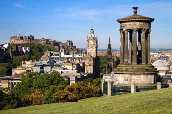 Castelul si orasul Edinburgh