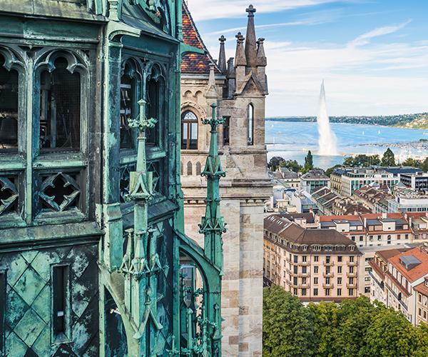Catedrala St Pierre, Geneva, Elvetia