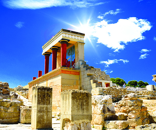 Heraklion, Palatul Knossos