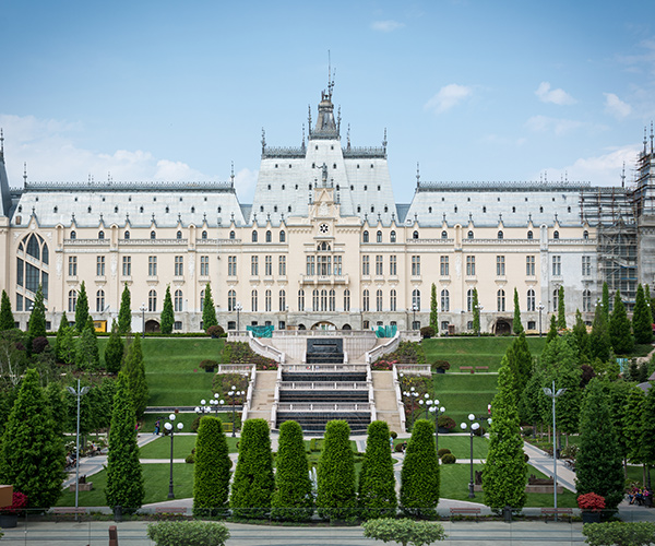 Iasi, Palatul Culturii