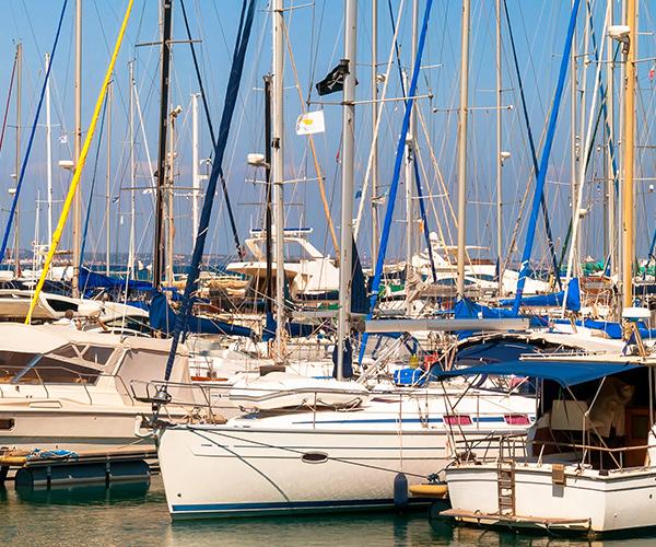 Larnaca, port