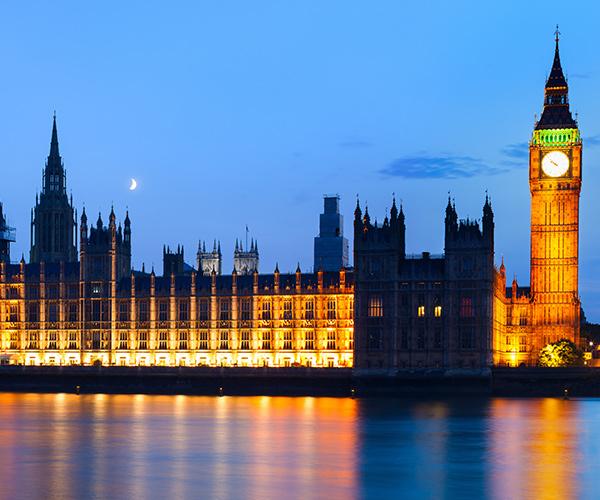 Londra, Palatul Parlamentului