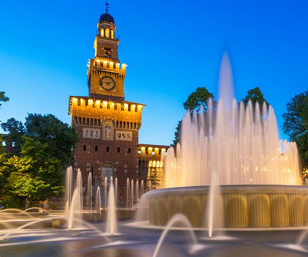 Milano, Castelul Sforzesco