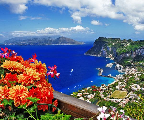 Insula Capri, Napoli