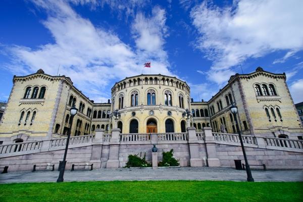 Oslo, Cladirea Parlamentului