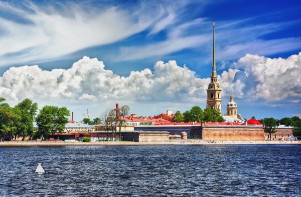 Sankt Petersburg, fortareata Sf Petru si Pavel