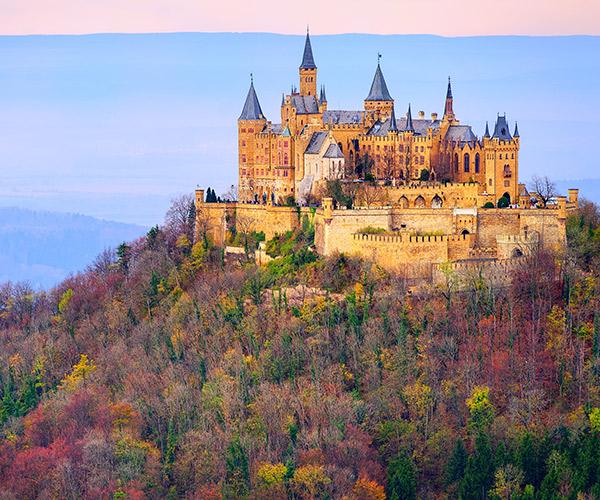 Castelul Hohenzollern, Stuttgart, Germania