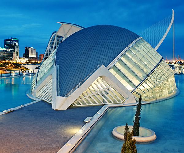 Orasul Artelor si Stiintei Valencia, Spania