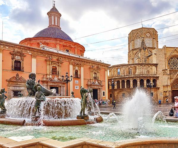 Piata Sf Maria, Valencia