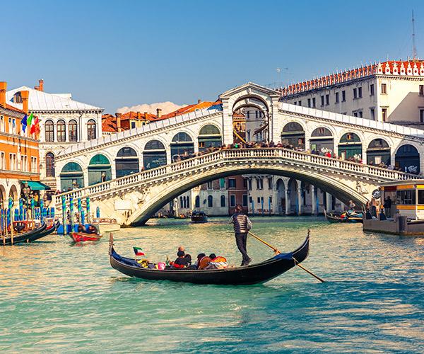 Portul Rialto, Venetia, Italia