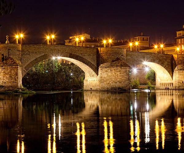 Pod in Zaragoza, Spania